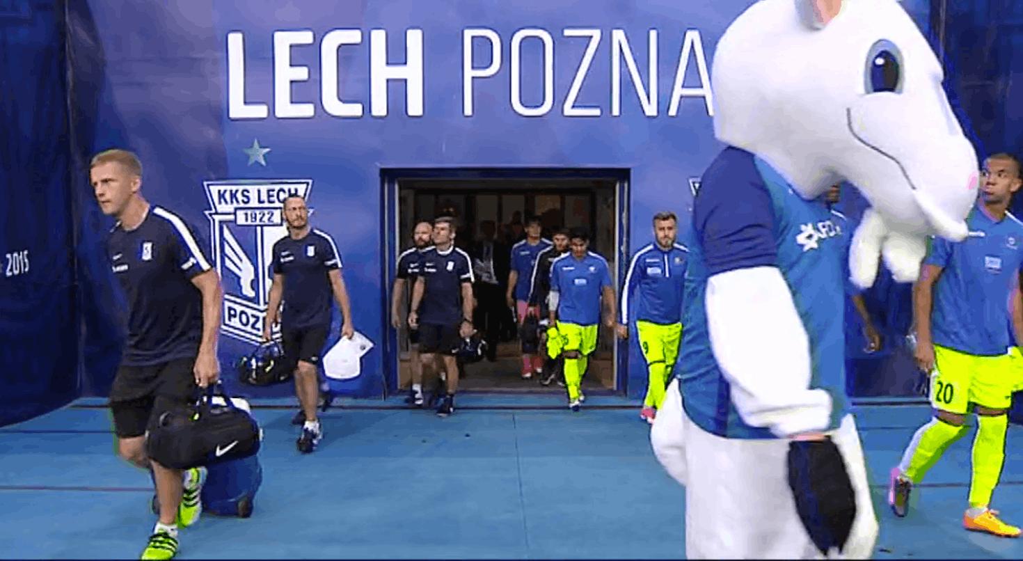 Retransmisja: I połowa meczu Lecha Poznań z FK Haugesund