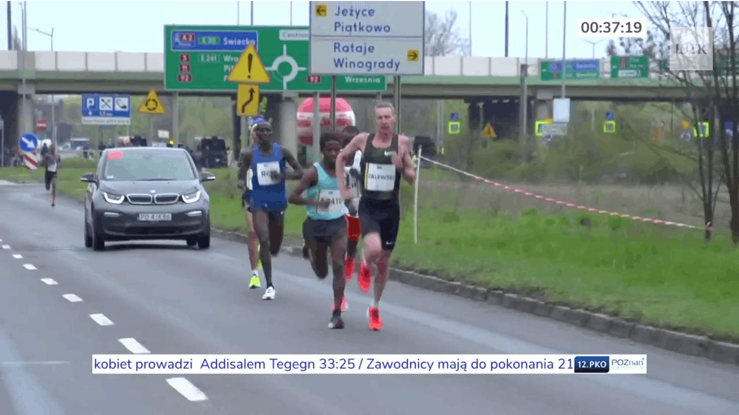 Pełna transmisja z 12. PKO Poznań Półmaraton